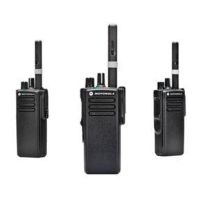 RADIOS PORTÁTILES DE DOS VÍAS MOTOROLA DGP™8050  DGP™5050