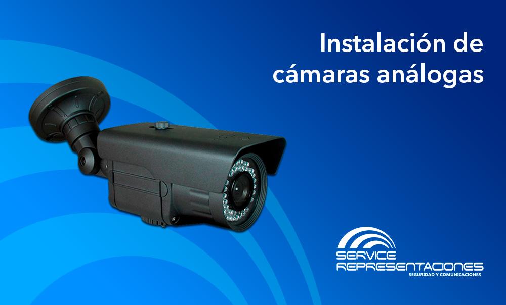 Instalación de cámaras análogas en Lima